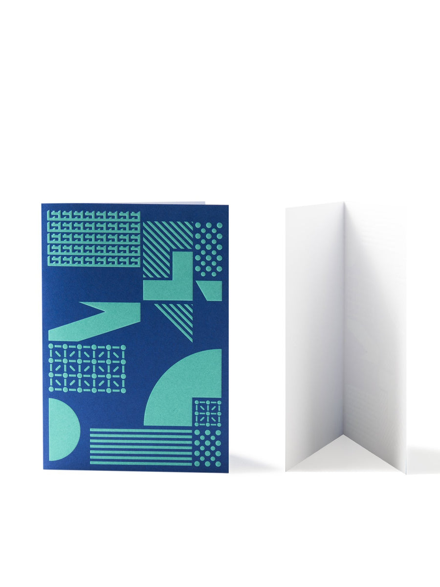 Cover and inside of M+ Thank You Card