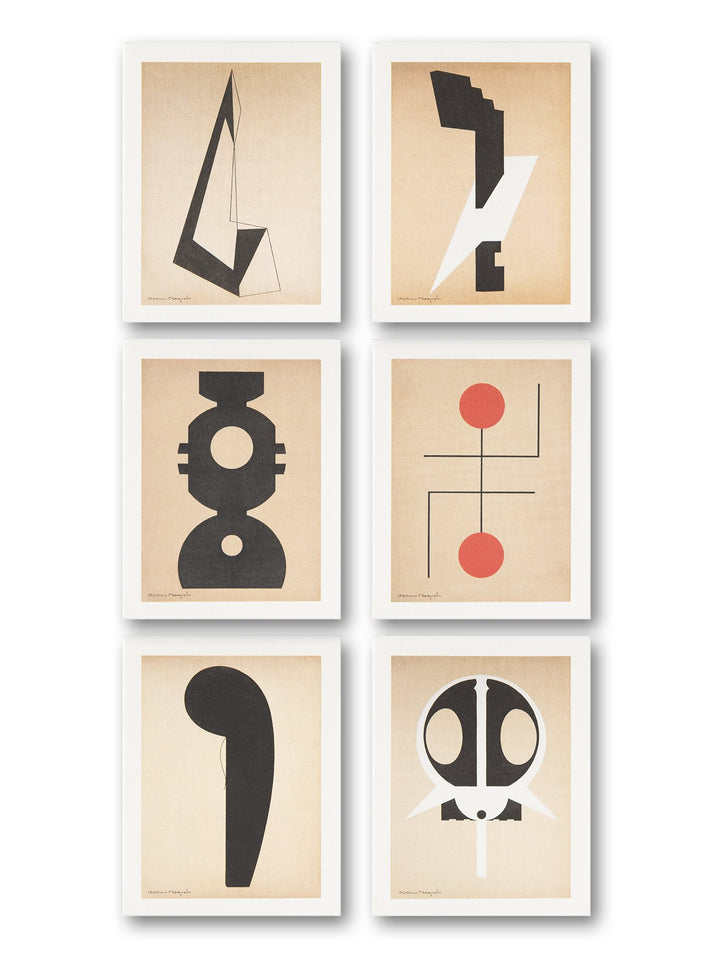 Isamu Noguchi - 'Paris Abstractions' notecard set | M+ Shop | Exhibition Special