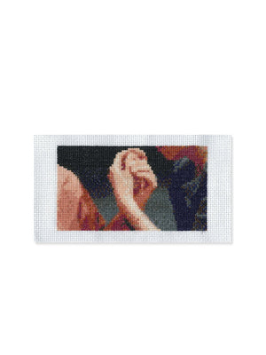 Shen Xin - Provocation of the Nightingale cross-stitch bookmark kit 01