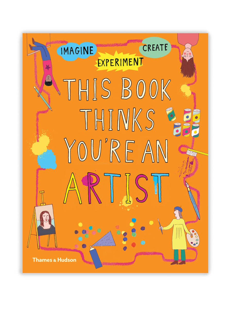 Cover of This Book Thinks You're an Artist