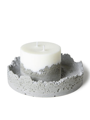 Lee Bul - 'Against the Past' cement candle | 李昢「Against the Past」水泥蠟燭