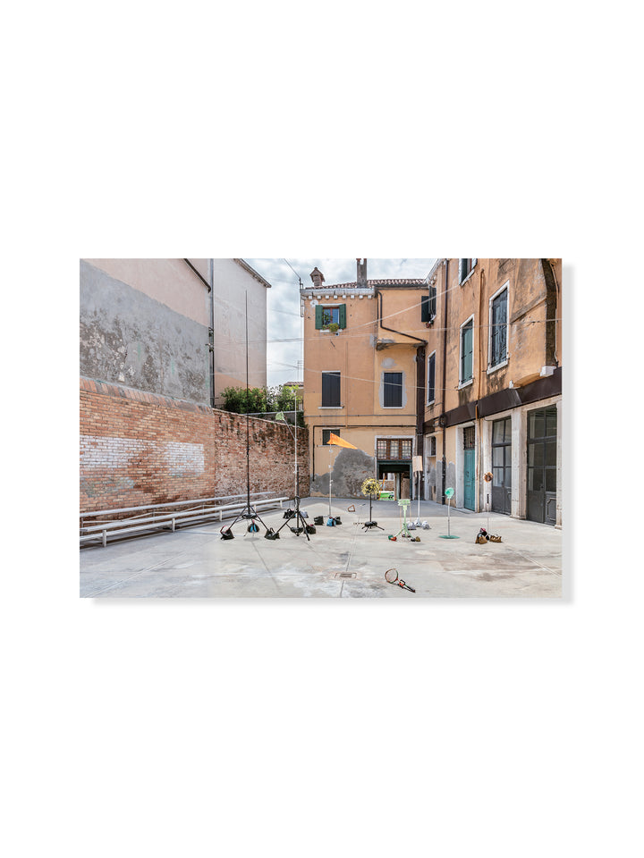 'Playcourt' in 'Shirley Tse: Stakeholder, Hong Kong in Venice' postcard | M+ Shop | Exhibition Special | Collaboration with Artist