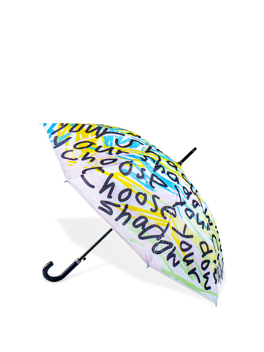 Samson Young - 'Choose your shadow' Tyvek® umbrella | 楊嘉輝「Choose your shadow」Tyvek®雨傘