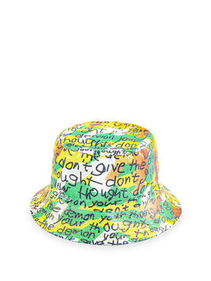M+ Shop: Sigg Prize 2019 collection-Samson Young - 'Don't give the demon your thought' Tyvek® bucket hat