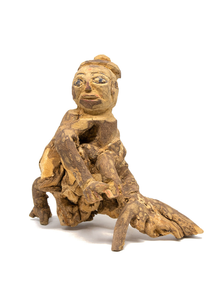 Liang Shuo - 'Zha' root sculpture | 梁碩「渣」藏根雕
