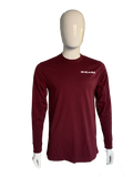 Strawberry Guava Live Heads - Maroon Long Sleeve T-Shirt