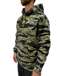 Tiger Camo Hoody with Hi-Viz Swords