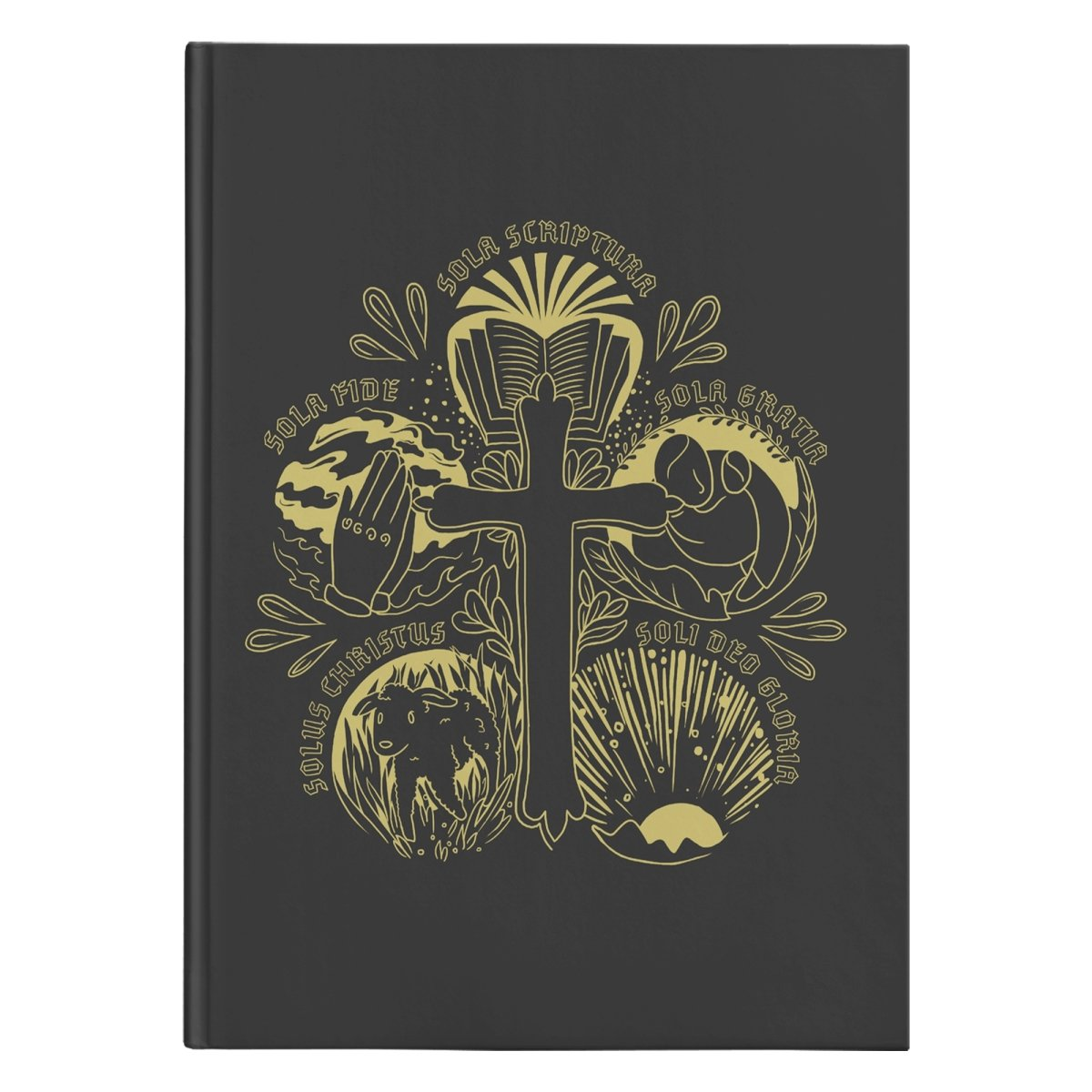 5 Solas (150 page Hardcover Journal) - SDG Clothing