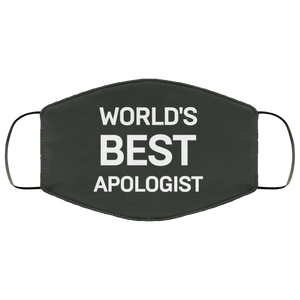 Worlds Best Apologist (Face Mask)