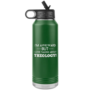 Awkward but love Theology! (32oz Stainless Steel Tumbler) - SDG Clothing