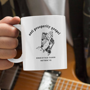 Beware False Teachers (11/15oz Black & White Mug) - SDG Clothing