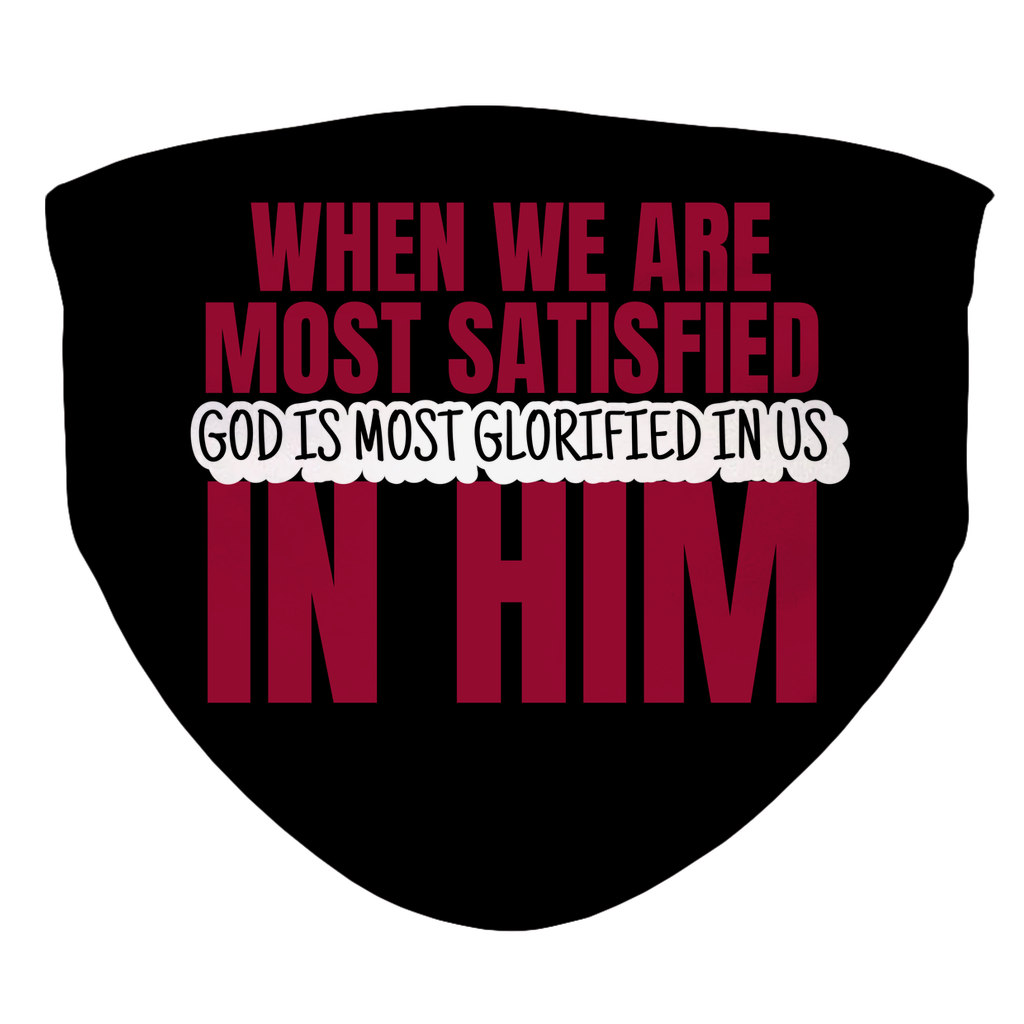 God is Most Glorified (7-Layer Face Mask) - SDG Clothing