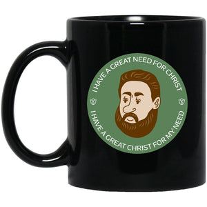 Charles Spurgeon (11/15oz Black & White Mug) - SDG Clothing