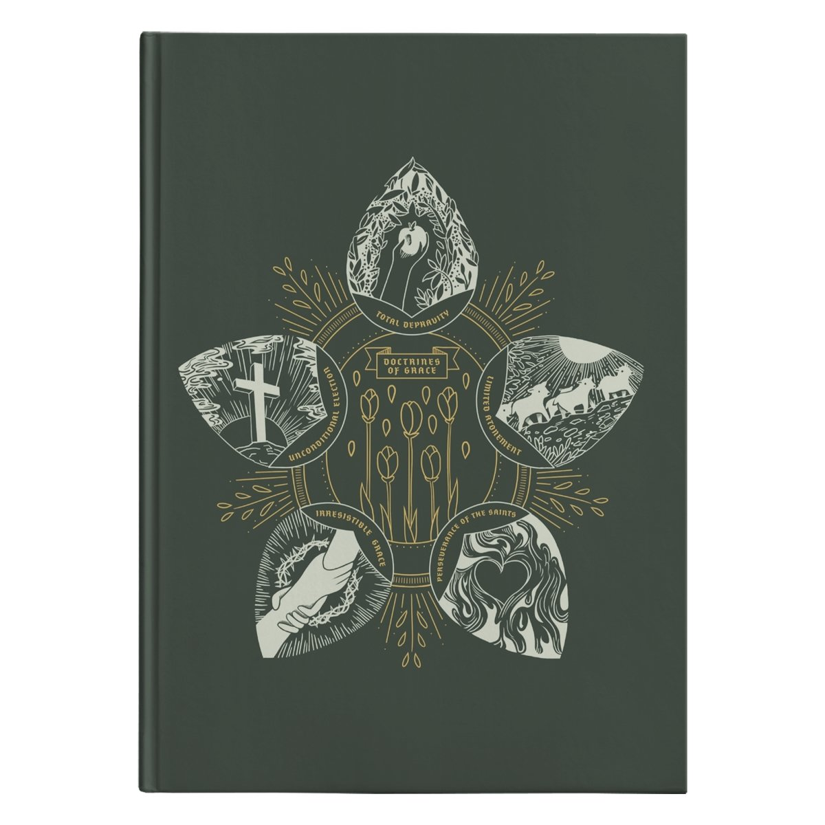 Doctrines of Grace (150 page Hardcover Journal) - SDG Clothing