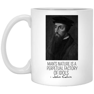 Factory of Idols (11/15oz Black & White Mug) - SDG Clothing