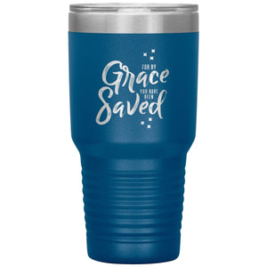 For by Grace (30oz Stainless Steel Tumbler) - SDG Clothing