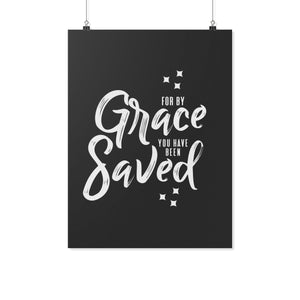 For by Grace (Wall Poster) - SDG Clothing