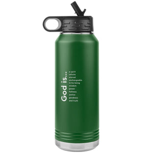 God is (32oz Steel Bottle Tumbler) - SDG Clothing