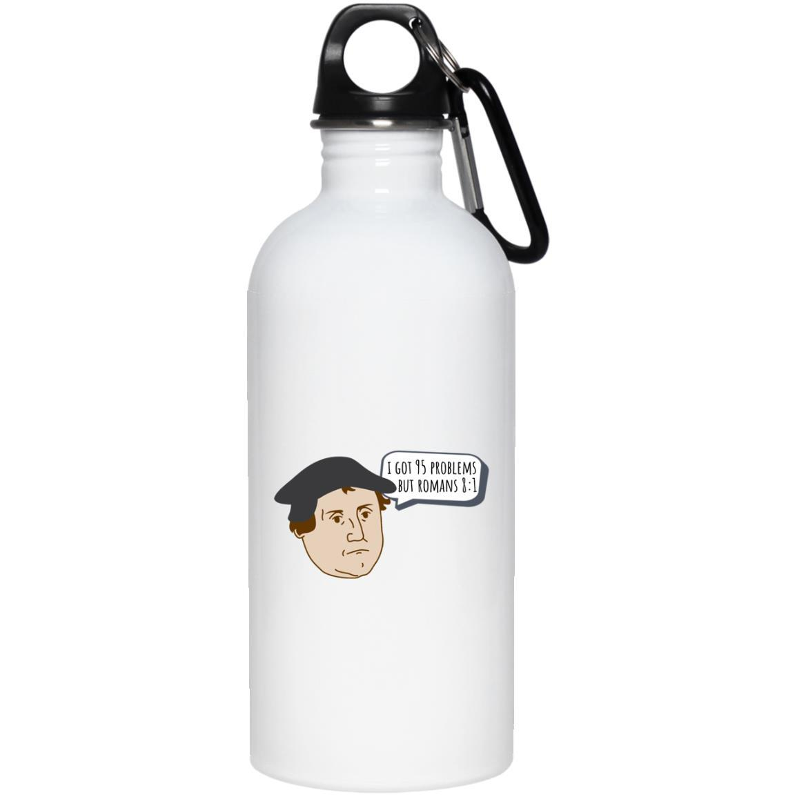 I Got 95 Problems (20oz Steel Water Bottle) - SDG Clothing