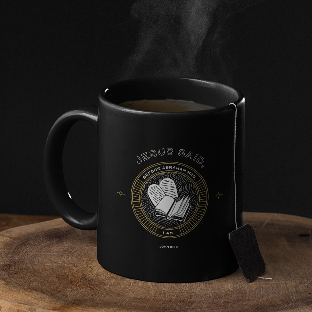 Jesus Said I Am (11/15oz Black & White Mugs) - SDG Clothing