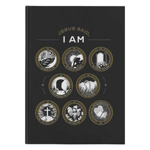 Jesus Said I Am. 150 page Hardcover Journal) - SDG Clothing