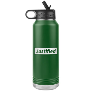 Justified (32oz Stainless Steel Tumbler) - SDG Clothing