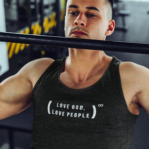 Love God, Love People (Mens & Womens Tank) - SDG Clothing