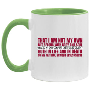 My Only Comfort (11oz Accent Mug) - SDG Clothing