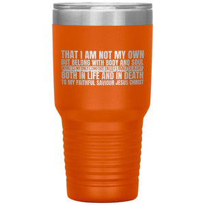 My Only Comfort (30oz Stainless Steel Tumbler) - SDG Clothing