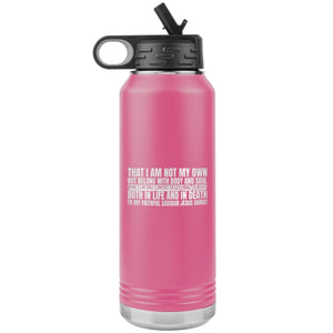 My Only Comfort (32oz Stainless Steel Tumbler) - SDG Clothing