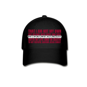 My Only Comfort (Baseball Cap) - SDG Clothing
