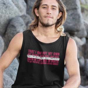 My Only Comfort (Mens & Womens Tank) - SDG Clothing