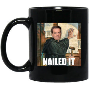 Nailed It (11/15oz Black & White Mug) - SDG Clothing