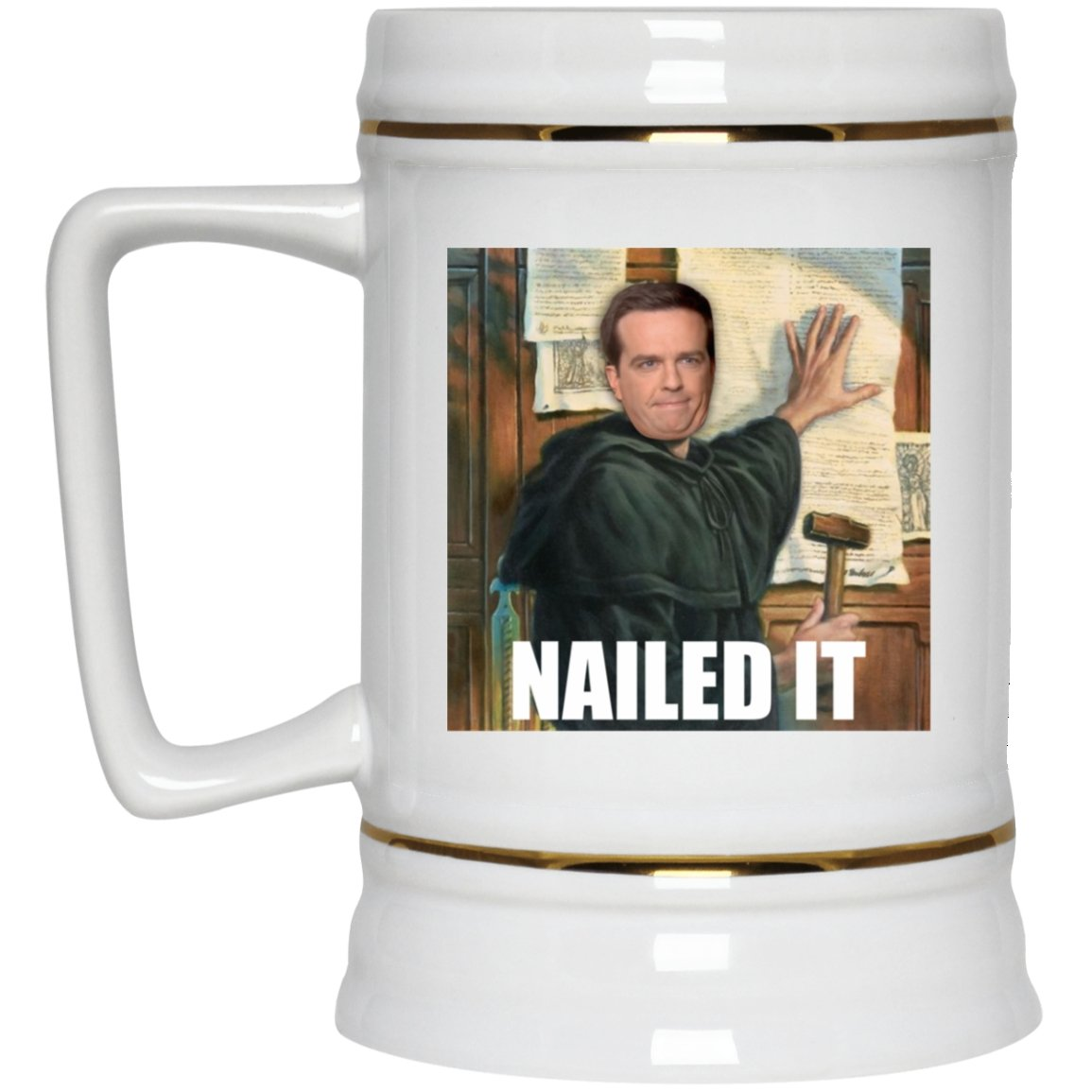 Nailed It (22oz Beer Stein) - SDG Clothing