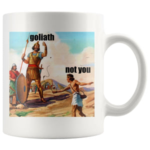 Not David (11/15oz Black & White Mug) - SDG Clothing