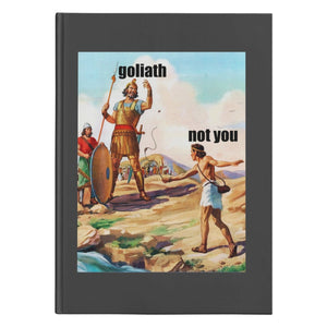 Not David (150 Page Hardcover Journal) - SDG Clothing