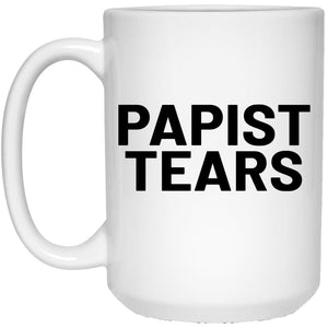 Papist Tears (11/15oz Black & White Mug) - SDG Clothing