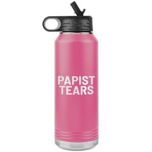 Papist Tears (32oz Stainless Steel Tumbler) - SDG Clothing