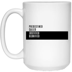 Predestined (11/15oz Black & White Mug) - SDG Clothing