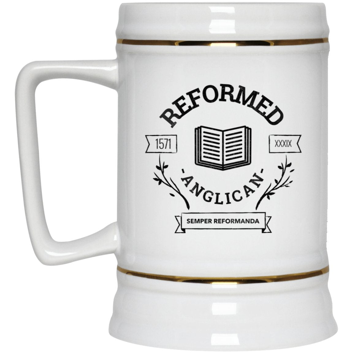 Reformed Anglican (22oz Beer Stein) - SDG Clothing