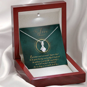 Renewal of Vows - Ribbon Necklace - SDG Clothing