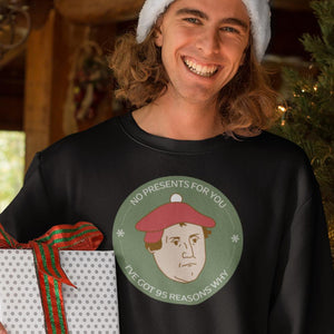 Santa Luther (Unisex Sweatshirt & Hoodie) - SDG Clothing