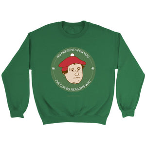Santa Luther(Unisex Sweatshirt & Hoodie) - SDG Clothing