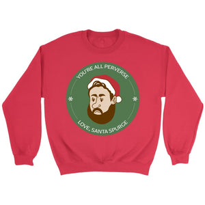 Santa Spurgeon (Unisex Sweatshirt) - SDG Clothing