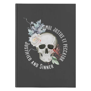 Simul Justus Et Peccator (150 Page Hardcover Journal) - SDG Clothing