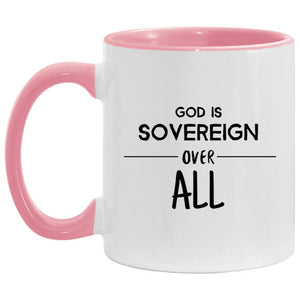 Sovereign Over All (11oz Accent Mug) - SDG Clothing
