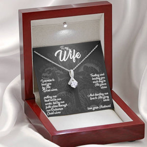 To My Wife (5 Solas) - Ribbon Necklace - SDG Clothing