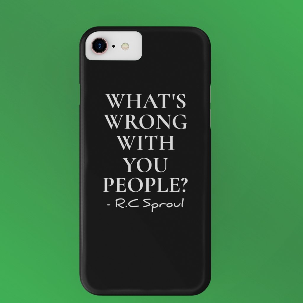 """What's Wrong with You People"" iPhone Cases - SDG Clothing"
