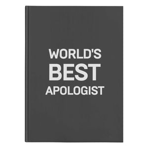 World's Best Apologist (150 Page Hardcover Journal) - SDG Clothing