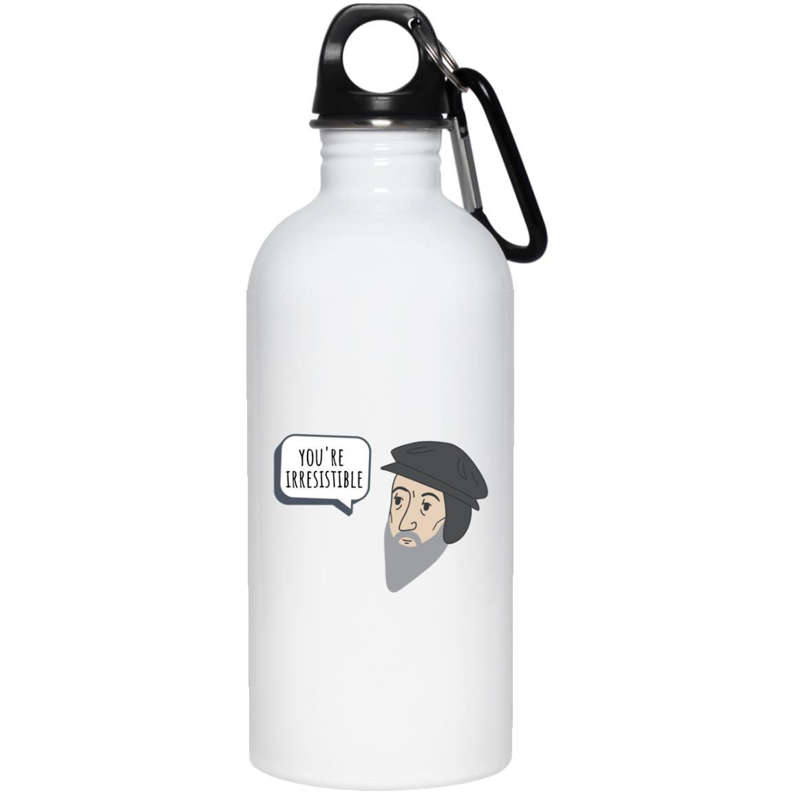 You're Irresistible (20oz Steel Water Bottle) - SDG Clothing